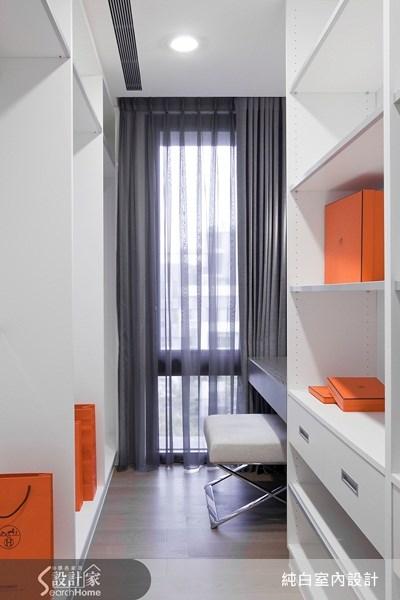 100坪新成屋(5年以下)_現代風案例圖片_純白室內設計_純白_09之16