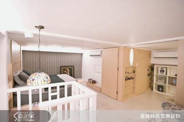 15坪新成屋(5年以下)_鄉村風臥室案例圖片_棠藝設計_堂藝_02之5