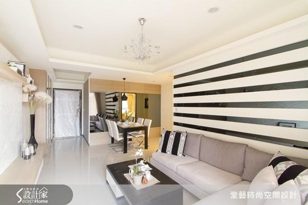 25坪新成屋(5年以下)_新古典客廳案例圖片_棠藝設計_堂藝_14之2
