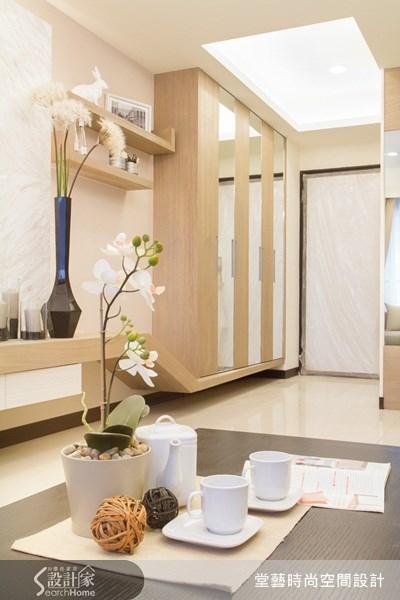 25坪新成屋(5年以下)_新古典客廳案例圖片_棠藝設計_堂藝_14之1