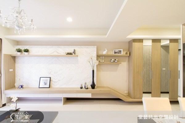 25坪新成屋(5年以下)_新古典客廳案例圖片_棠藝設計_堂藝_14之4