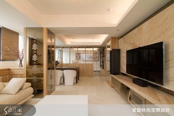 45坪_新古典客廳案例圖片_棠藝設計_堂藝_18之5
