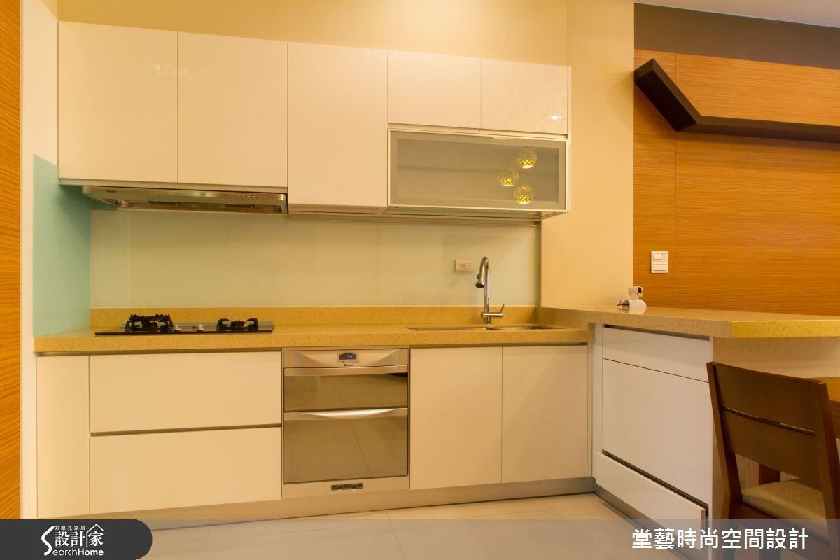 60坪新成屋(5年以下)_人文禪風廚房案例圖片_棠藝設計_堂藝_24之3