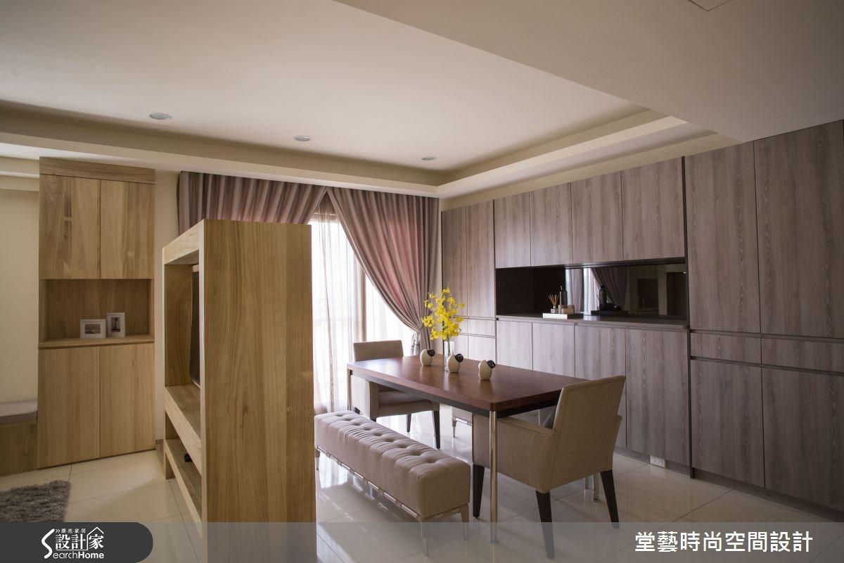 30坪新成屋(5年以下)_休閒風客廳案例圖片_棠藝設計_堂藝_25之2