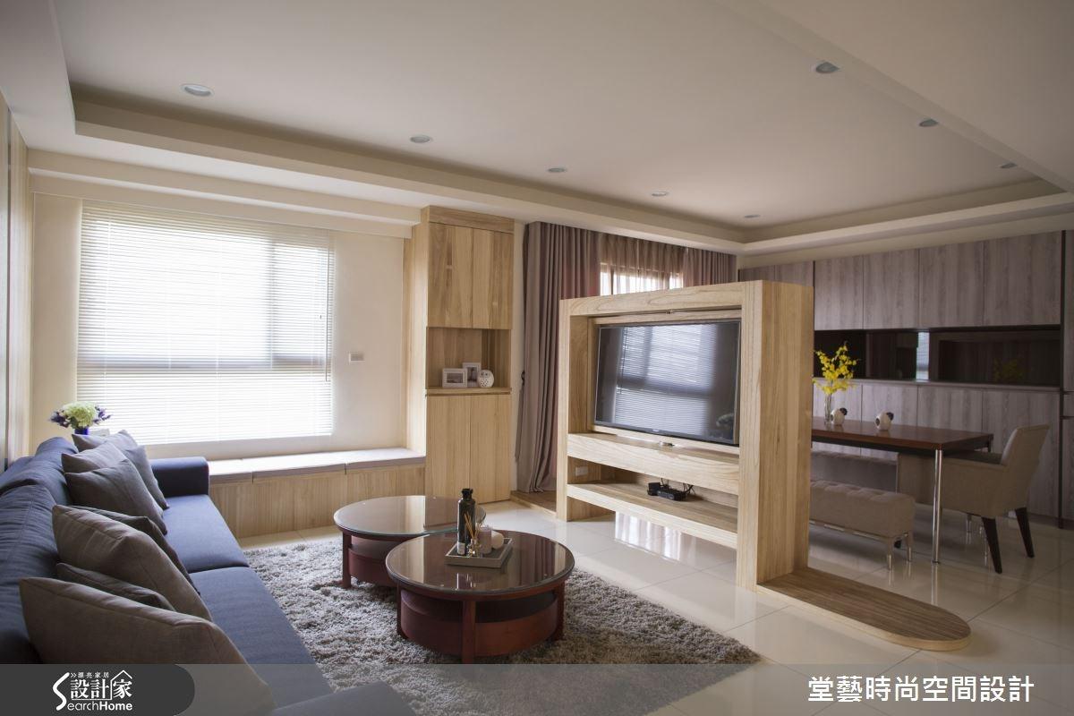30坪新成屋(5年以下)_休閒風客廳案例圖片_棠藝設計_堂藝_25之5