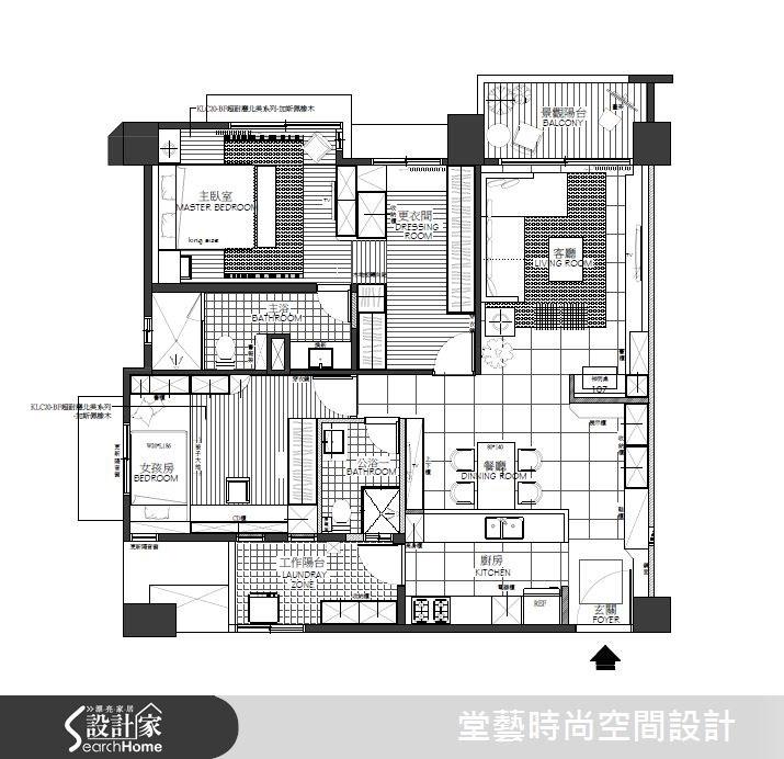 28坪新成屋(5年以下)_新古典案例圖片_棠藝設計_堂藝_26之15