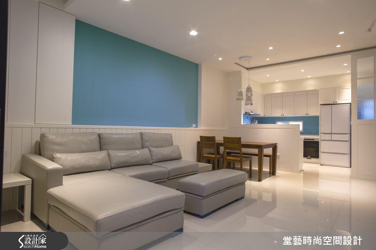 45坪新成屋(5年以下)_混搭風客廳案例圖片_棠藝設計_堂藝_28之1