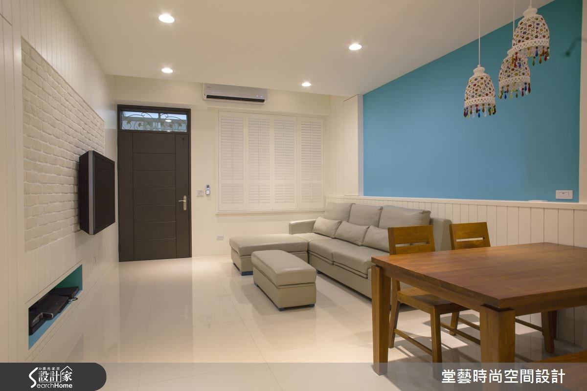 45坪新成屋(5年以下)_混搭風客廳案例圖片_棠藝設計_堂藝_28之2