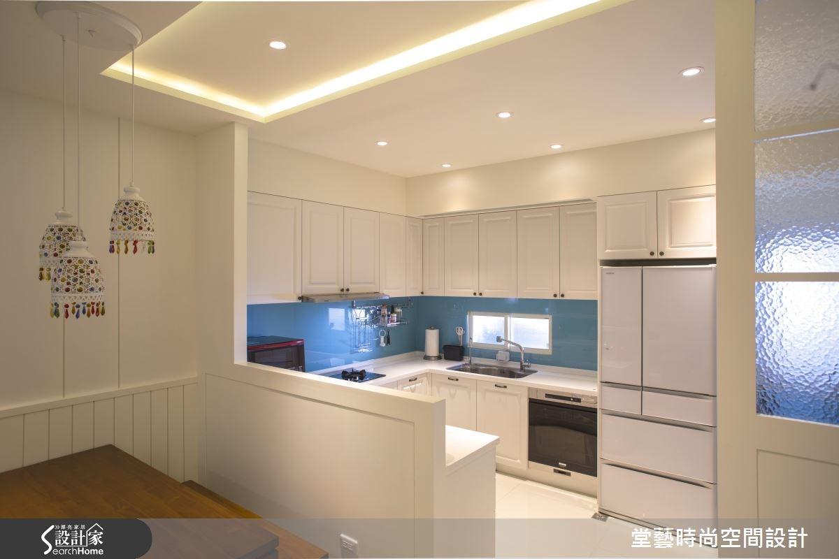 45坪新成屋(5年以下)_混搭風廚房案例圖片_棠藝設計_堂藝_28之4
