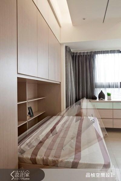45坪新成屋(5年以下)_北歐風臥室案例圖片_品楨空間設計_品楨_03之11