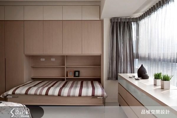 45坪新成屋(5年以下)_北歐風臥室案例圖片_品楨空間設計_品楨_03之10