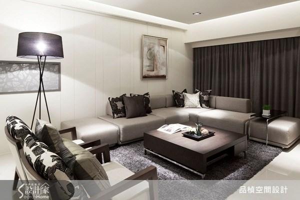 45坪新成屋(5年以下)_北歐風客廳案例圖片_品楨空間設計_品楨_03之2