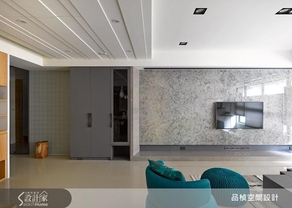 38坪新成屋(5年以下)_療癒風客廳案例圖片_品楨空間設計_品楨_09之7
