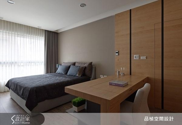 38坪新成屋(5年以下)_療癒風臥室案例圖片_品楨空間設計_品楨_09之13