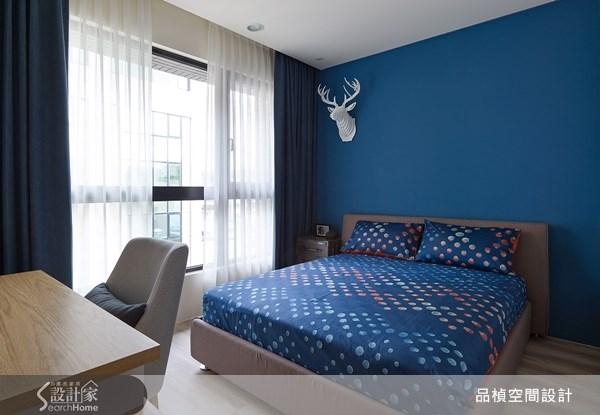 38坪新成屋(5年以下)_療癒風臥室案例圖片_品楨空間設計_品楨_09之16
