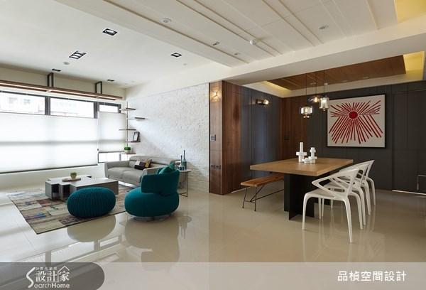 38坪新成屋(5年以下)_療癒風餐廳案例圖片_品楨空間設計_品楨_09之1