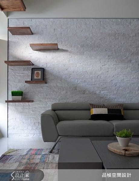 38坪新成屋(5年以下)_療癒風客廳案例圖片_品楨空間設計_品楨_09之5