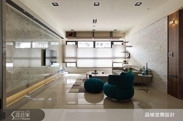 38坪新成屋(5年以下)_療癒風客廳案例圖片_品楨空間設計_品楨_09之2