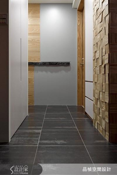 45坪老屋(16~30年)_現代風走廊案例圖片_品楨空間設計_品楨_10之1