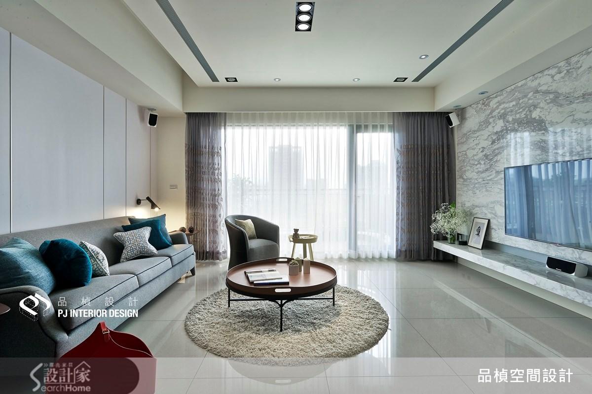 41坪新成屋(5年以下)_療癒風客廳案例圖片_品楨空間設計_品楨_11之3