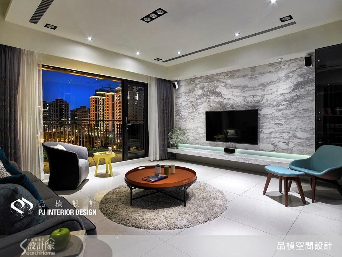41坪新成屋(5年以下)_療癒風客廳案例圖片_品楨空間設計_品楨_11之2