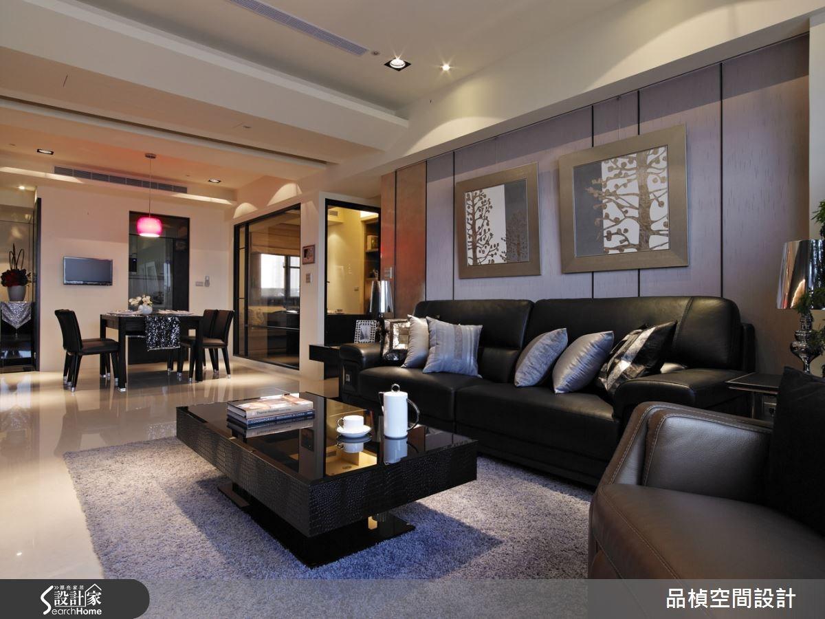 33坪新成屋(5年以下)_現代風客廳案例圖片_品楨空間設計_品楨_13之2