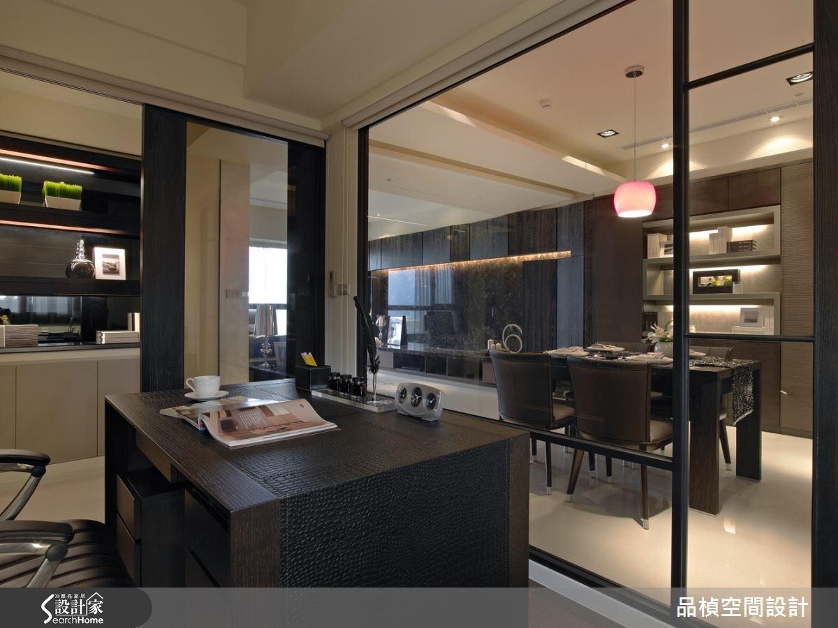 33坪新成屋(5年以下)_現代風書房案例圖片_品楨空間設計_品楨_13之3