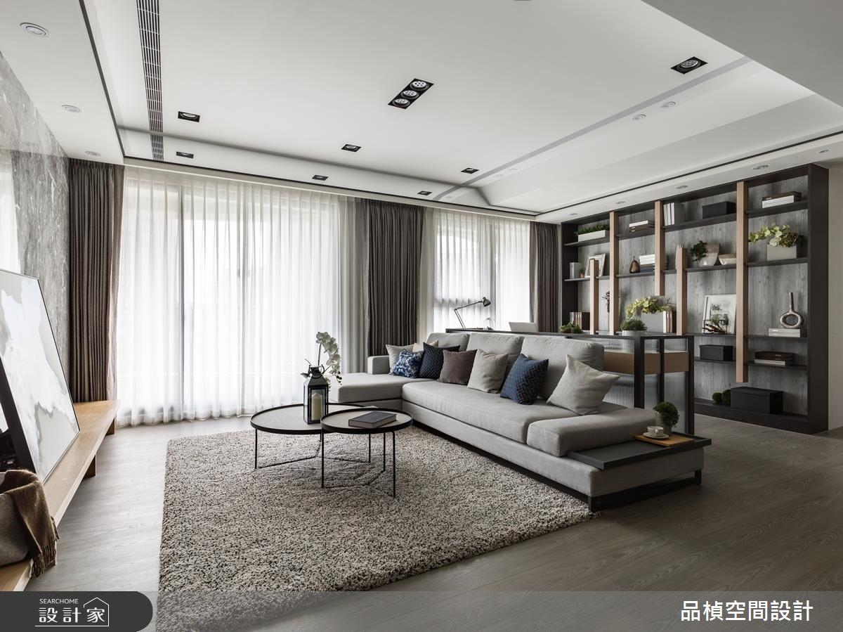 33坪新成屋(5年以下)_現代風客廳案例圖片_品楨空間設計_品楨_27之2