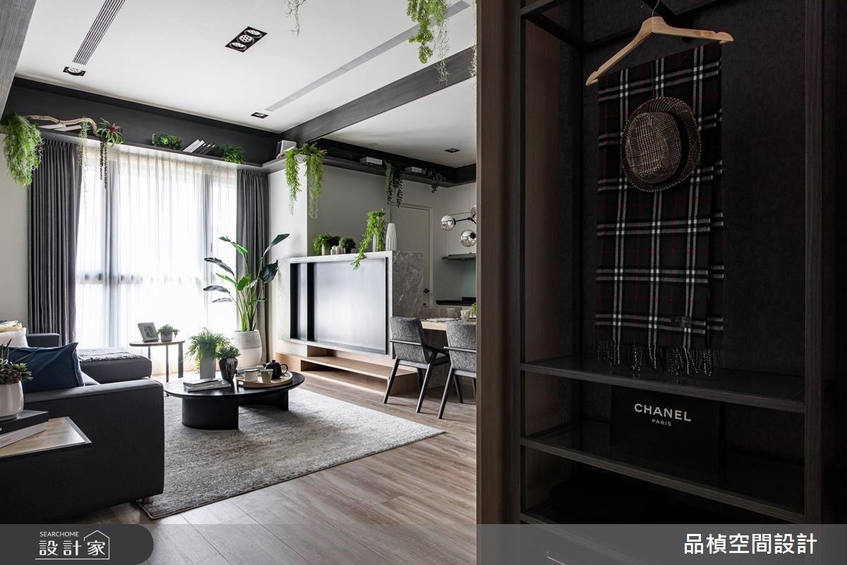 26坪新成屋(5年以下)_現代風客廳案例圖片_品楨空間設計_品楨_28之2