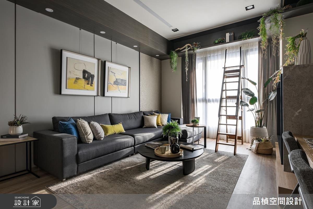 26坪新成屋(5年以下)_現代風客廳案例圖片_品楨空間設計_品楨_28之4