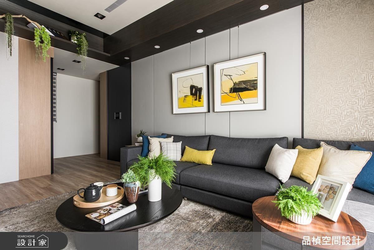 26坪新成屋(5年以下)_現代風客廳案例圖片_品楨空間設計_品楨_28之3