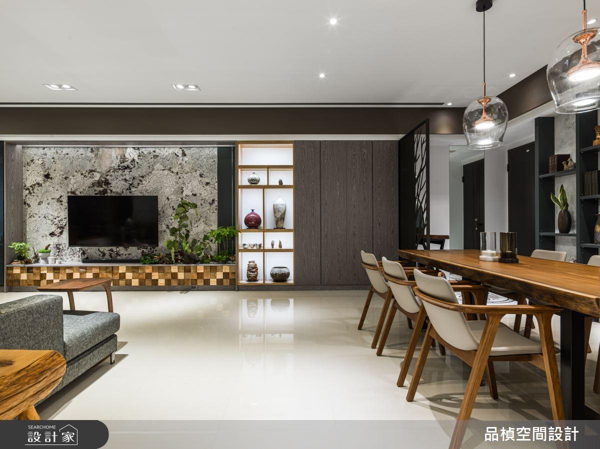 46坪新成屋(5年以下)_現代風餐廳案例圖片_品楨空間設計_品楨_29之3