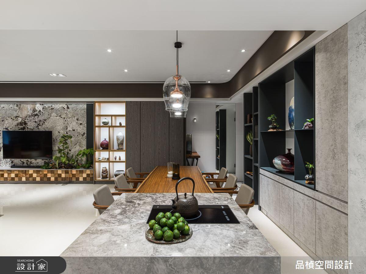 46坪新成屋(5年以下)_現代風餐廳案例圖片_品楨空間設計_品楨_29之4