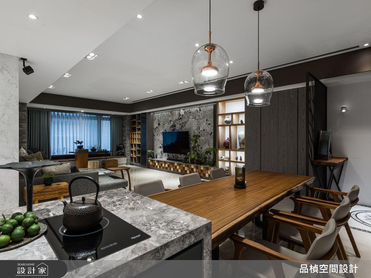 46坪新成屋(5年以下)_現代風餐廳臥榻案例圖片_品楨空間設計_品楨_29之6