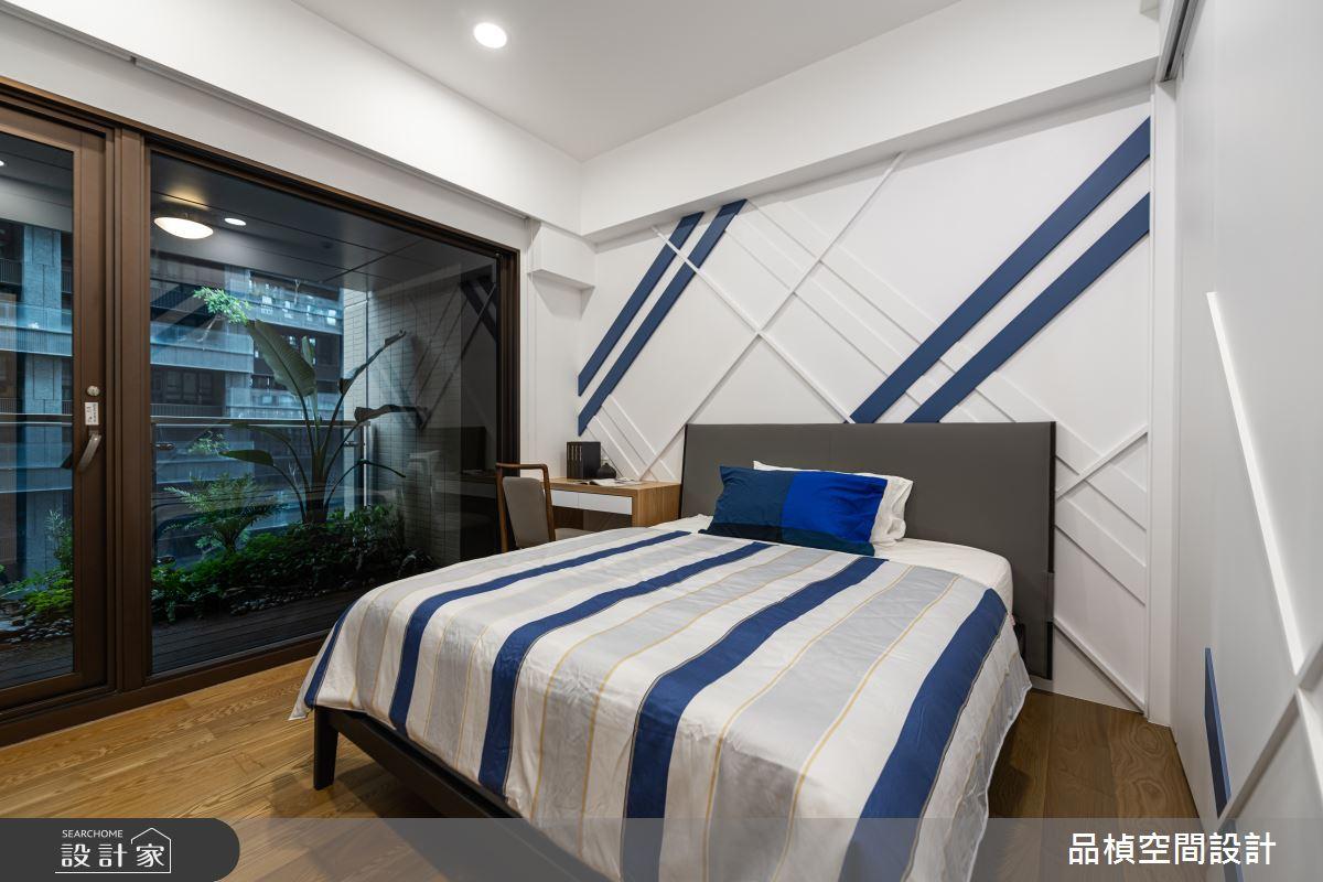 46坪新成屋(5年以下)_現代風臥室案例圖片_品楨空間設計_品楨_29之14