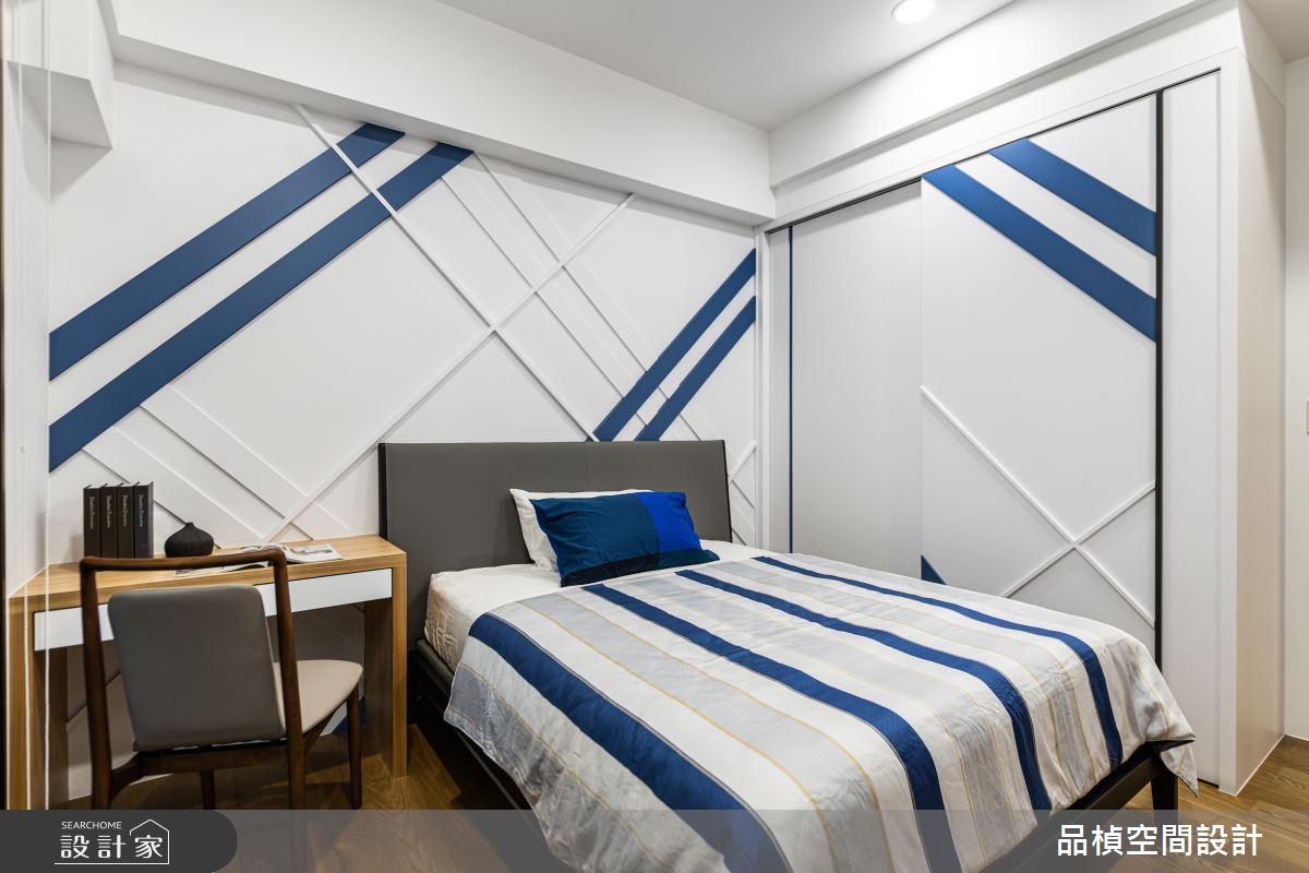 46坪新成屋(5年以下)_現代風臥室案例圖片_品楨空間設計_品楨_29之15