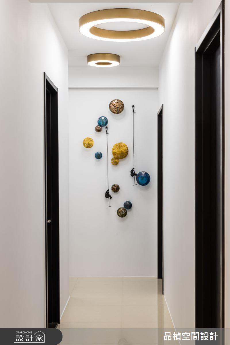 46坪新成屋(5年以下)_現代風走廊案例圖片_品楨空間設計_品楨_29之10