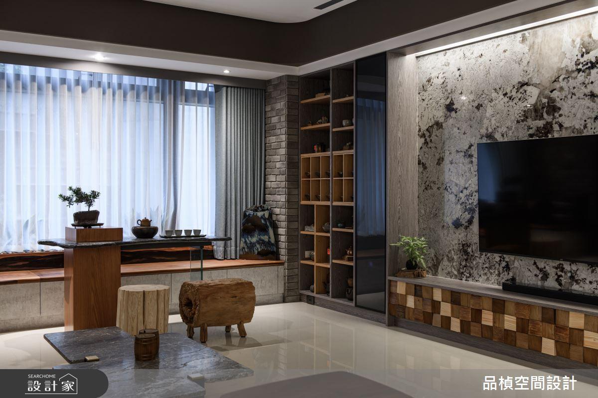 46坪新成屋(5年以下)_現代風客廳案例圖片_品楨空間設計_品楨_29之7