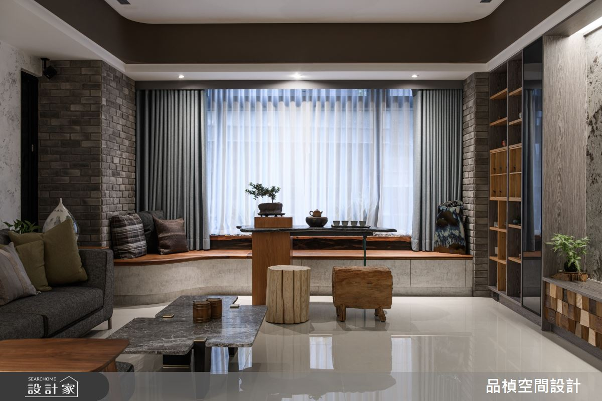 46坪新成屋(5年以下)_現代風客廳臥榻案例圖片_品楨空間設計_品楨_29之8