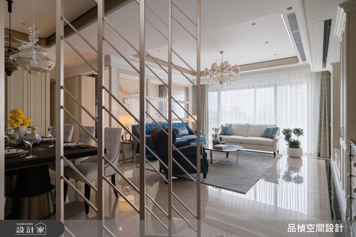 52坪新成屋(5年以下)_新古典玄關客廳案例圖片_品楨空間設計_品楨_31之2