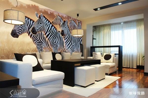 _案例圖片_榭琳傢飾設計公司_榭琳傢飾-窗簾.壁紙.家具提供_大幅壁紙之14