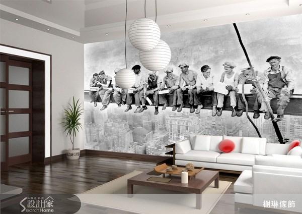 _案例圖片_榭琳傢飾設計公司_榭琳傢飾-窗簾.壁紙.家具提供_大幅壁紙之9