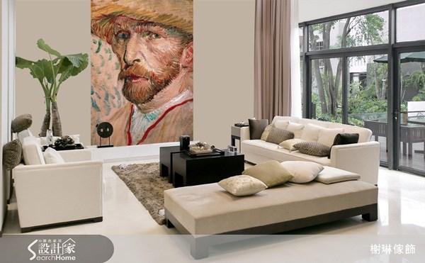_案例圖片_榭琳傢飾設計公司_榭琳傢飾-窗簾.壁紙.家具提供_大幅壁紙之2