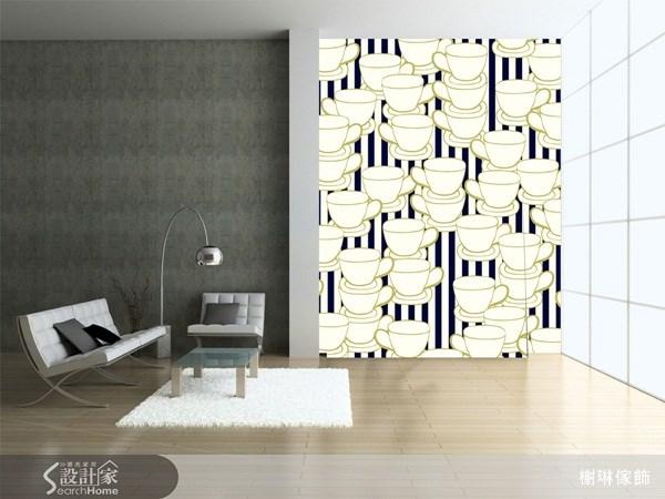 _案例圖片_榭琳傢飾設計公司_榭琳傢飾-窗簾.壁紙.家具提供_大幅壁紙之10
