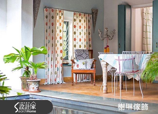 _案例圖片_榭琳傢飾設計公司_榭琳傢飾-窗簾,壁紙,傢俱_Jardin Boheme 1之4