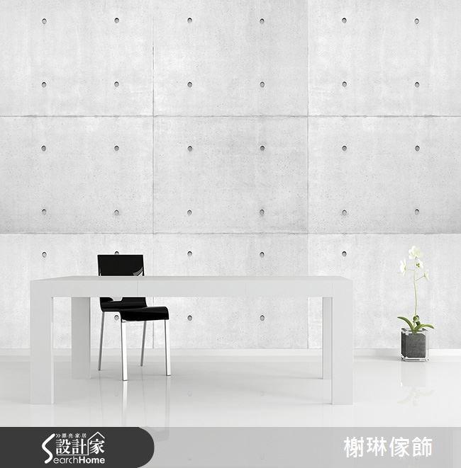 _案例圖片_榭琳傢飾設計公司_榭琳傢飾-窗簾,壁紙,傢俱_Just Concrete (大圖壁紙) 1之1