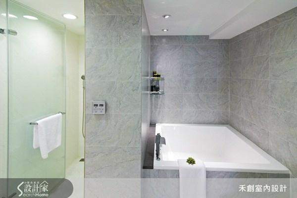48坪老屋(16~30年)_現代風浴室案例圖片_禾捷室內裝修設計有限公司_禾創_07之35