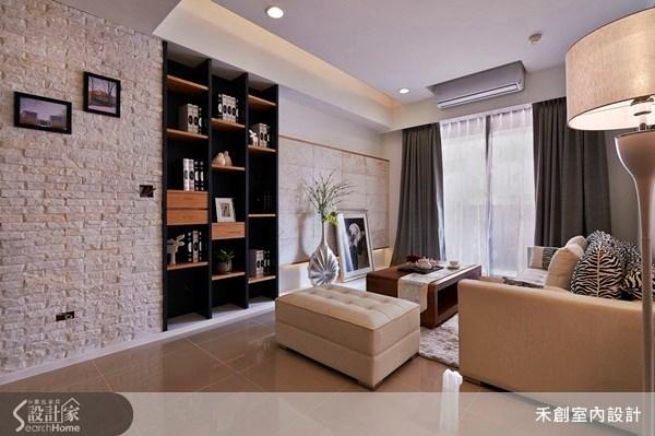 25坪新成屋(5年以下)_現代風客廳案例圖片_禾捷室內裝修設計有限公司_禾創_17之3