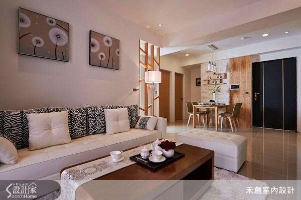 25坪新成屋(5年以下)_現代風客廳案例圖片_禾捷室內裝修設計有限公司_禾創_17之2