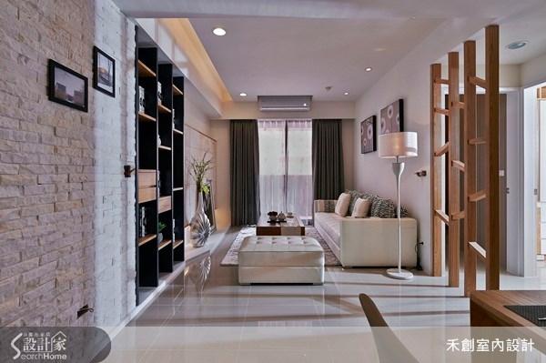 25坪新成屋(5年以下)_現代風客廳案例圖片_禾捷室內裝修設計有限公司_禾創_17之4
